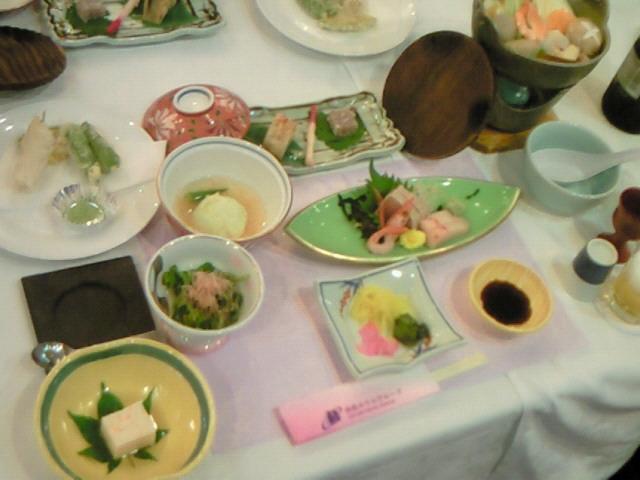 宴会のお料理