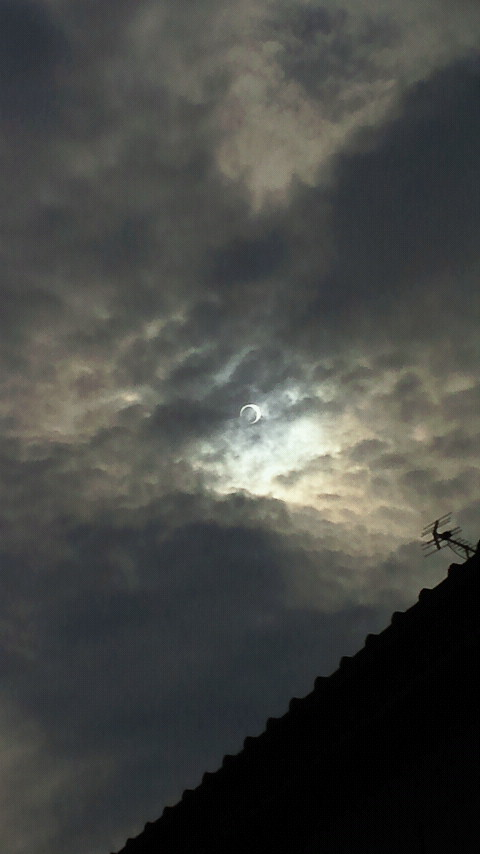 2012年5月21<br />  日金環日蝕