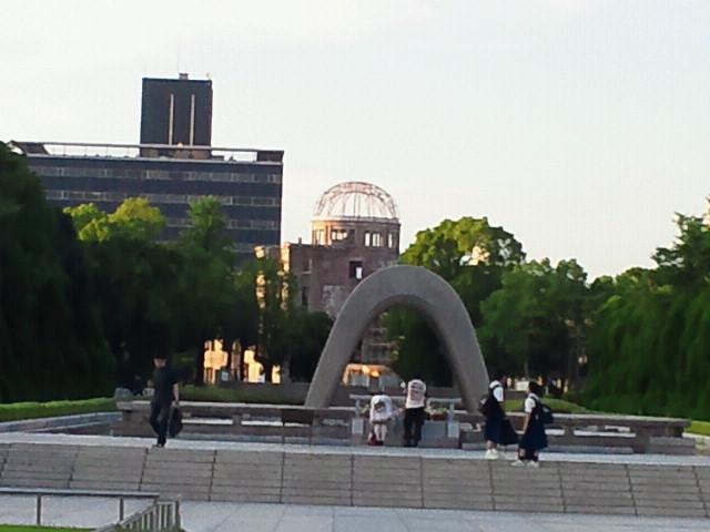 会場下見〜平和記念公園