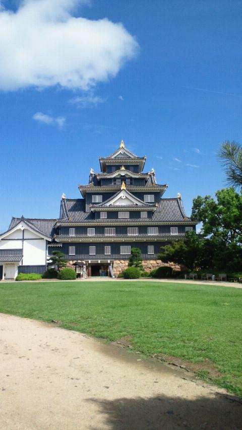 岡山城なう♪